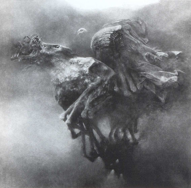 Zdzislaw Beksinski Dark Artworks 1981