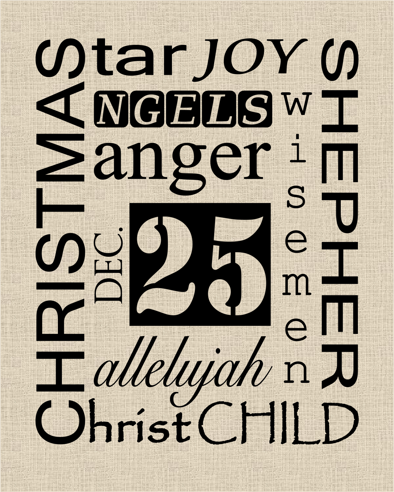 Today S Fabulous Finds Christmas Subway Art Printables
