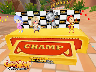 Crazy chicken kart 3 download and play on pc | youdagames. Com.