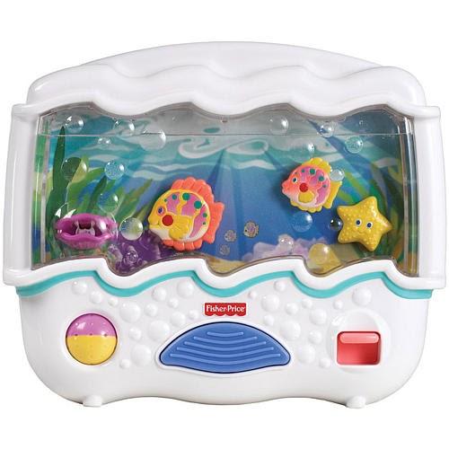 Toys4toddlers Fisher Price Ocean Wonders Aquarium Crib Toy