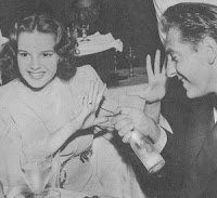 David Rose with wife JUDY GARLAND