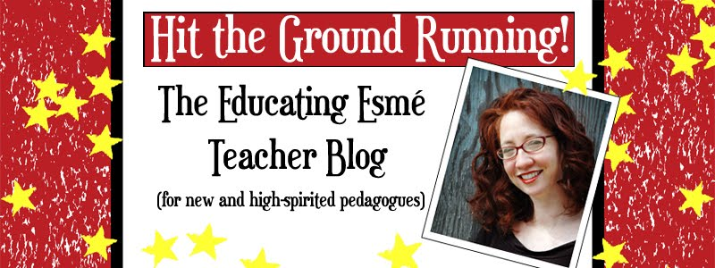 Hit the Ground Running:  The Educating Esme Blog for New Teachers