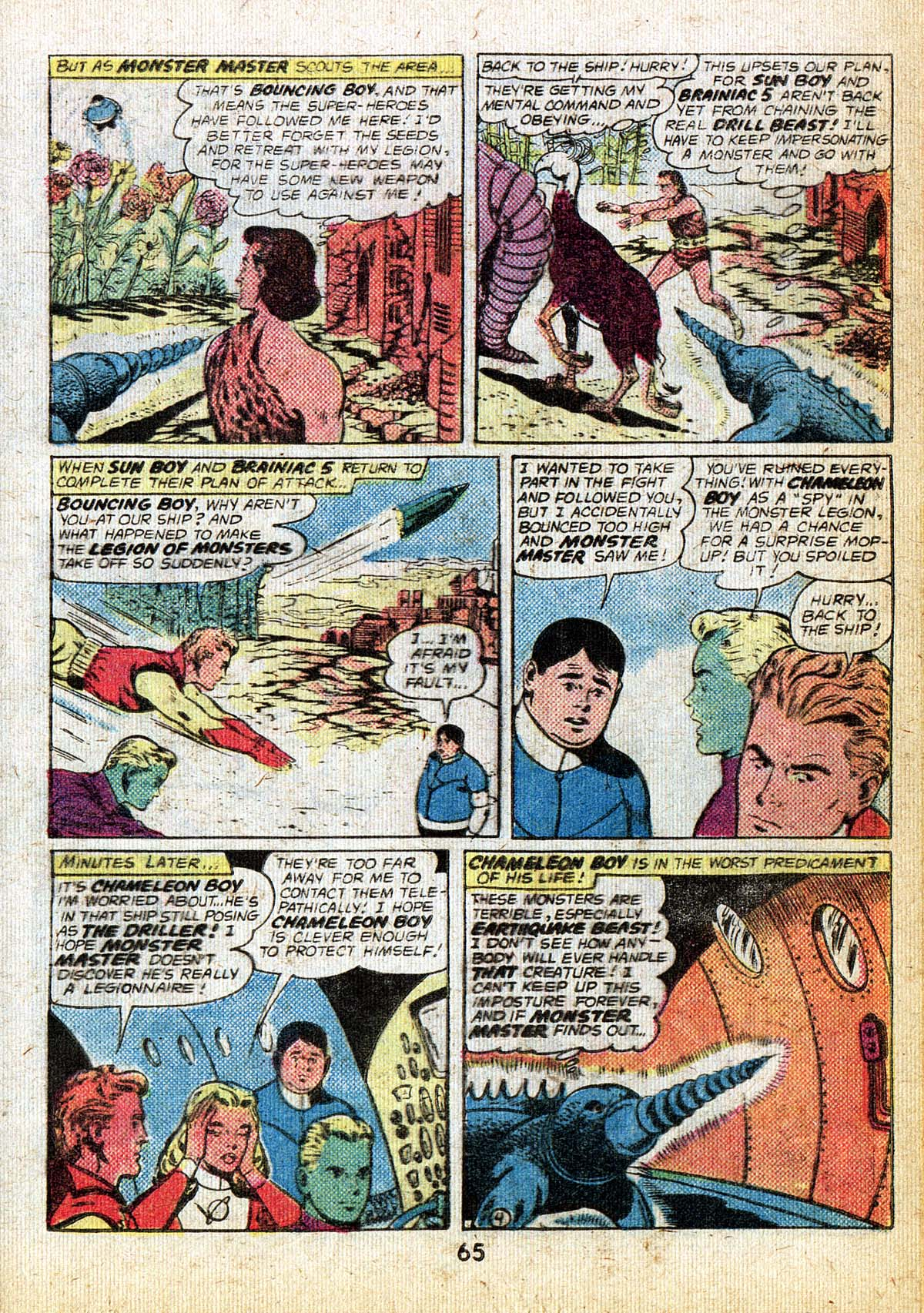 Read online Adventure Comics (1938) comic -  Issue #500 - 65