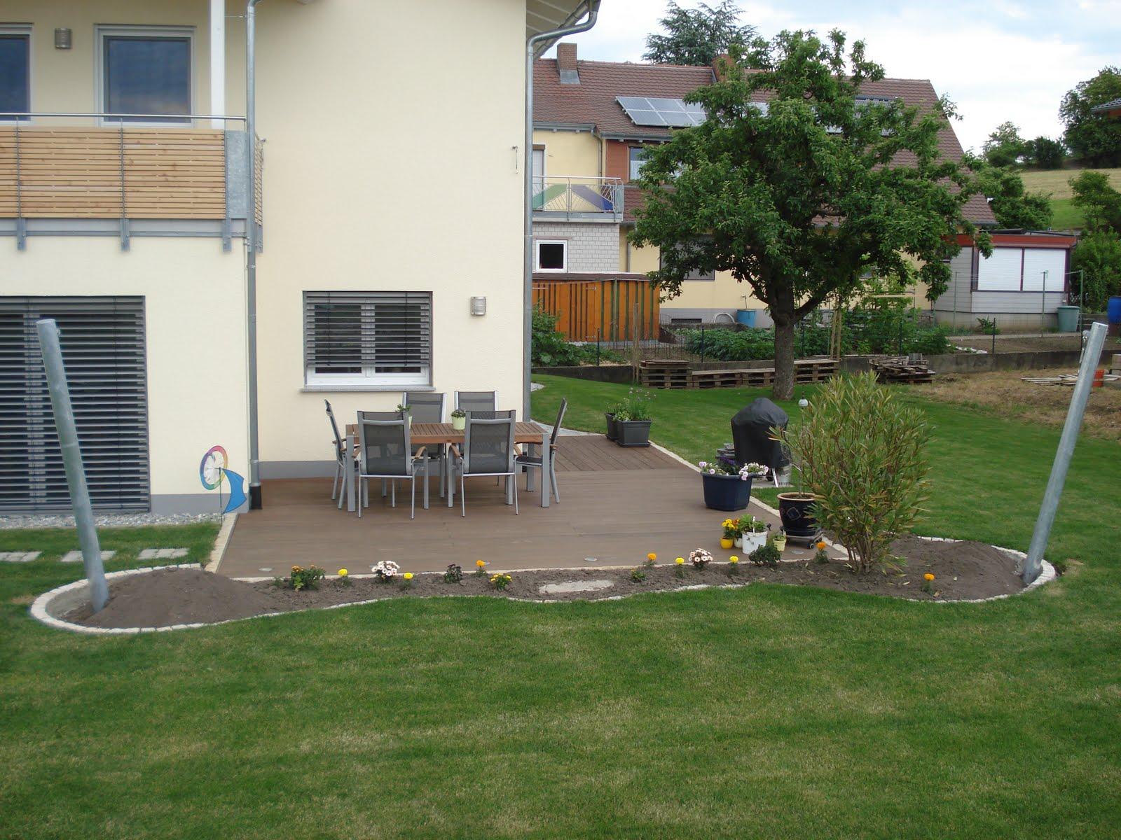 Beet Vor Terrasse Anlegen Hofbeet Eine Nierenformige Saatschale