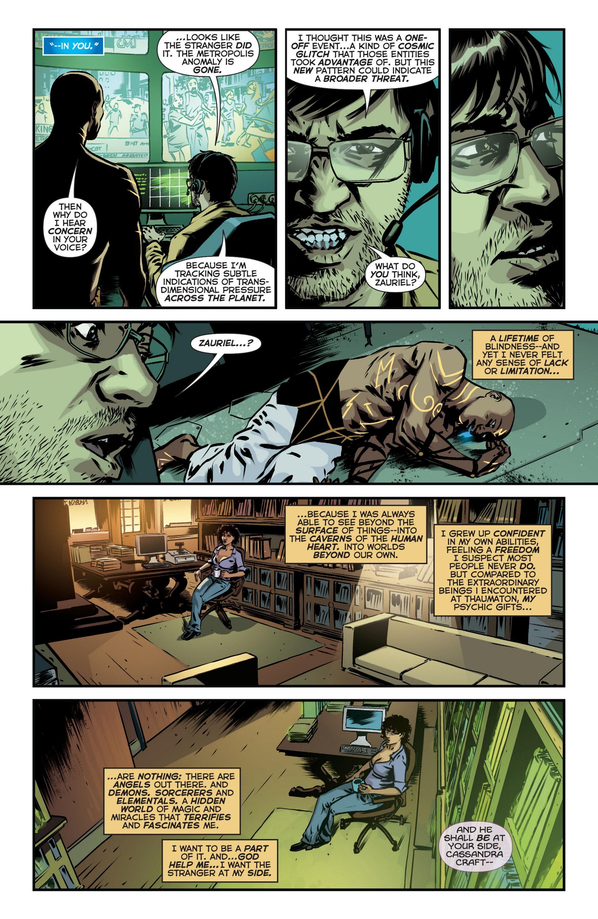 Read online Trinity of Sin: The Phantom Stranger comic -  Issue #18 - 19