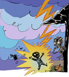Efeitos da corrente elétrica no corpo humano