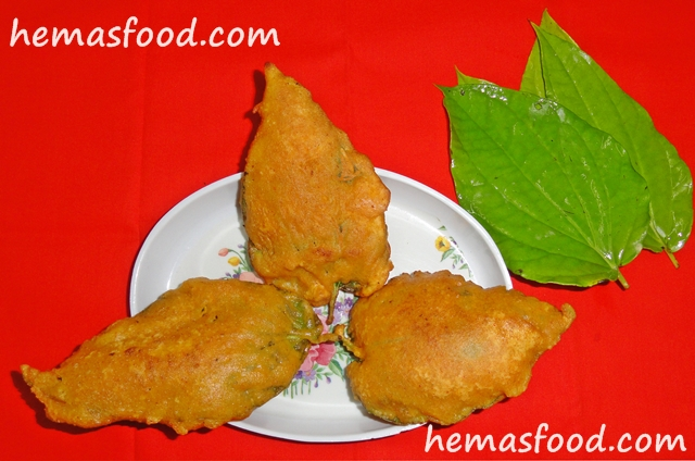 Betel leaf Fritters