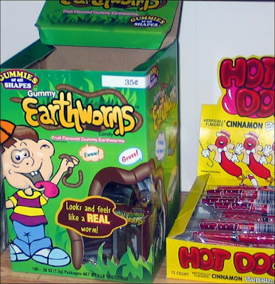 Gummy Earthworms