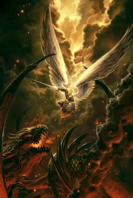 demons and angels fighting - photo #5