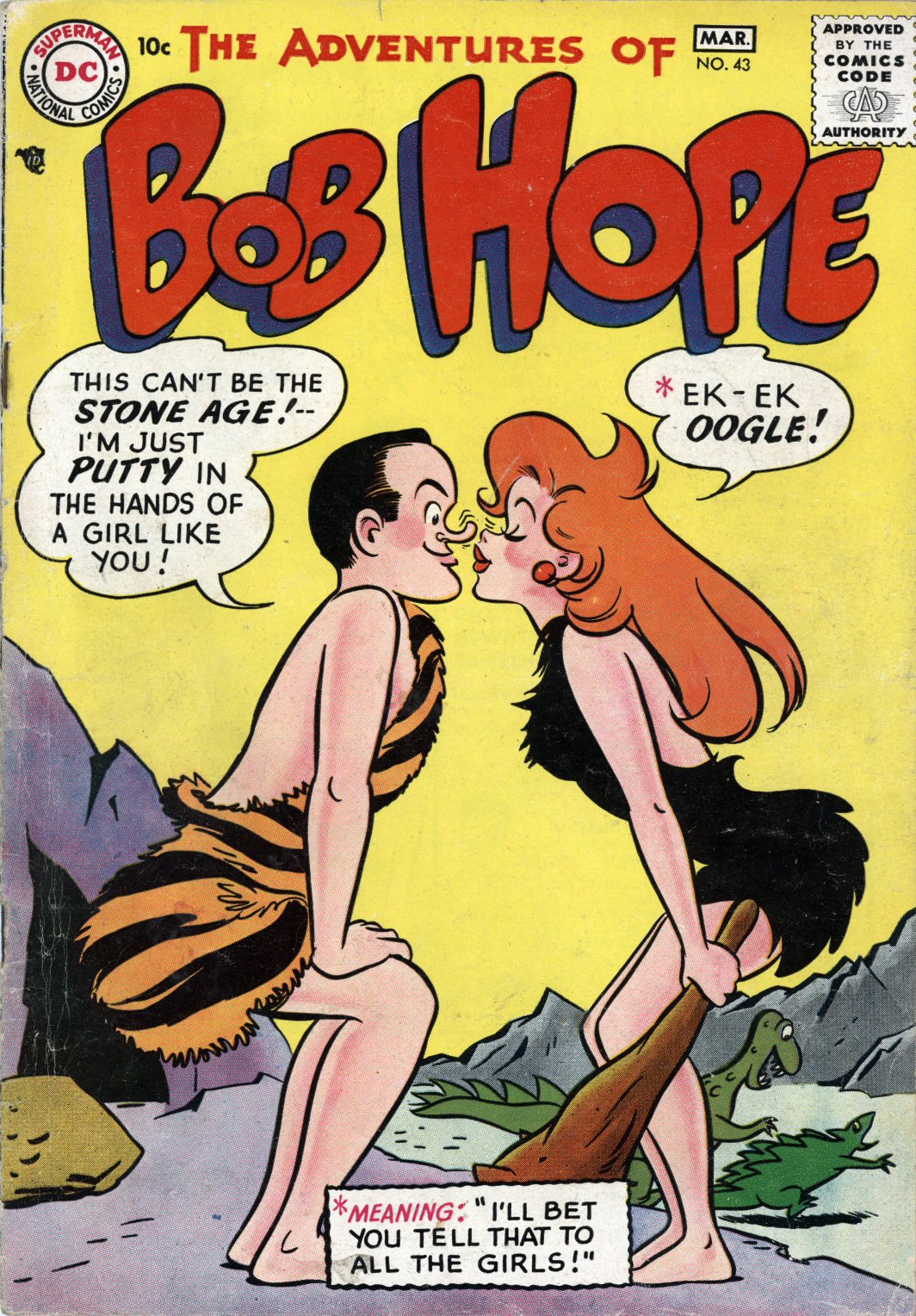 The Adventures of Bob Hope issue 43 - Page 1