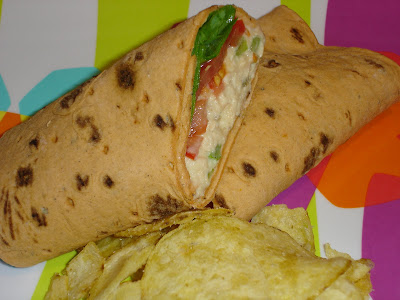 Mom S Cooking Club Tuna Salad Wrap