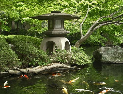 Japanese Garden Polycount