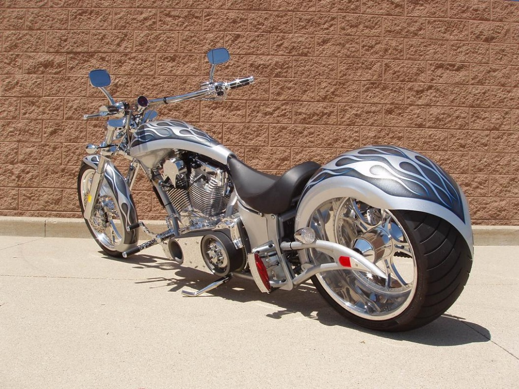 Motorcycle Custom: Harley Davidson Motorcycles: Choppers And Modified Motorcycles
