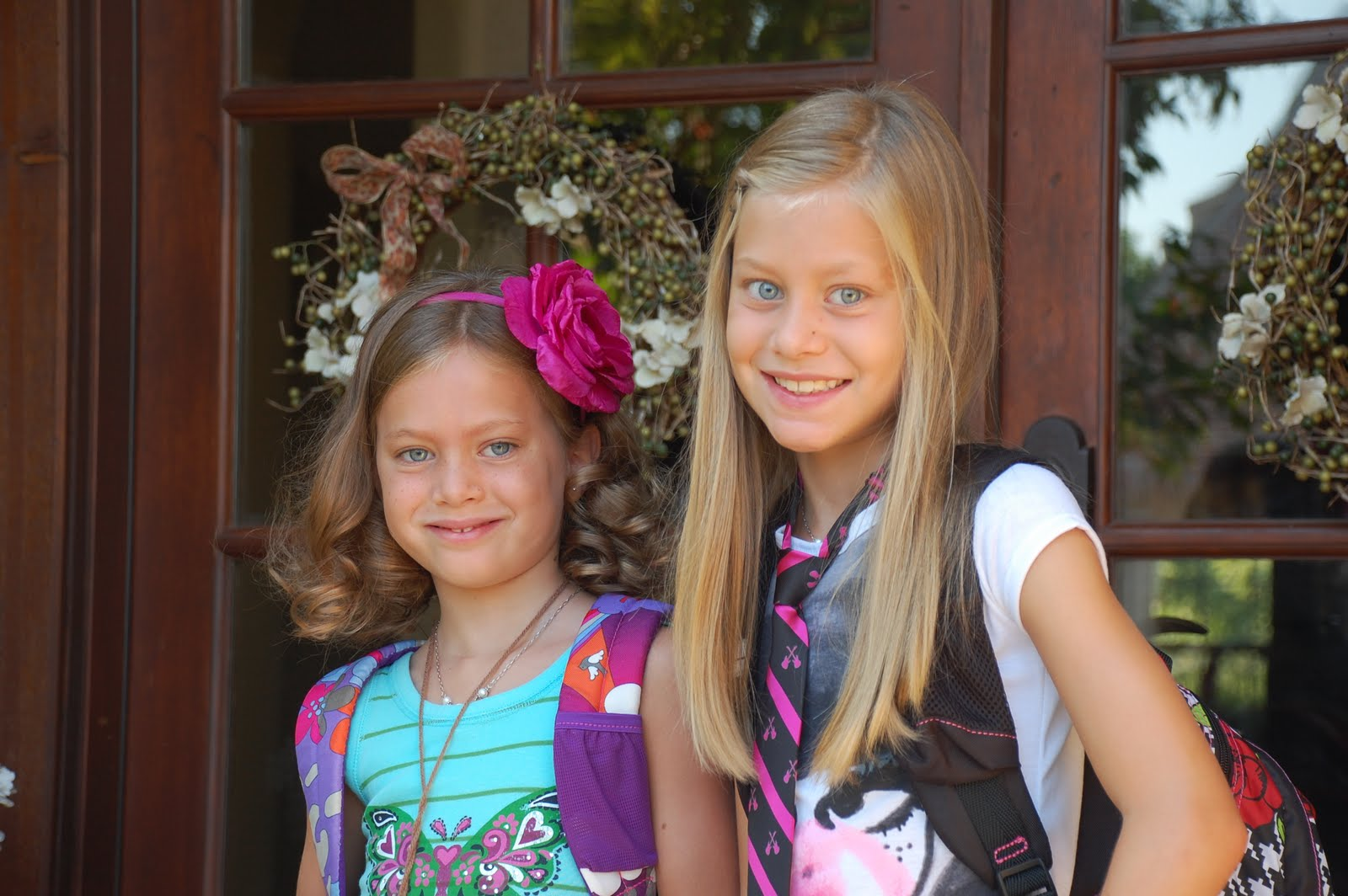 C'est La Belle Vie: First day of 6th, 4th & 1st Grade!