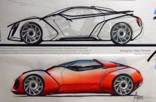 2020 Pontiac Trans Am (Soon Cadillac) | Design is a 3D artform..