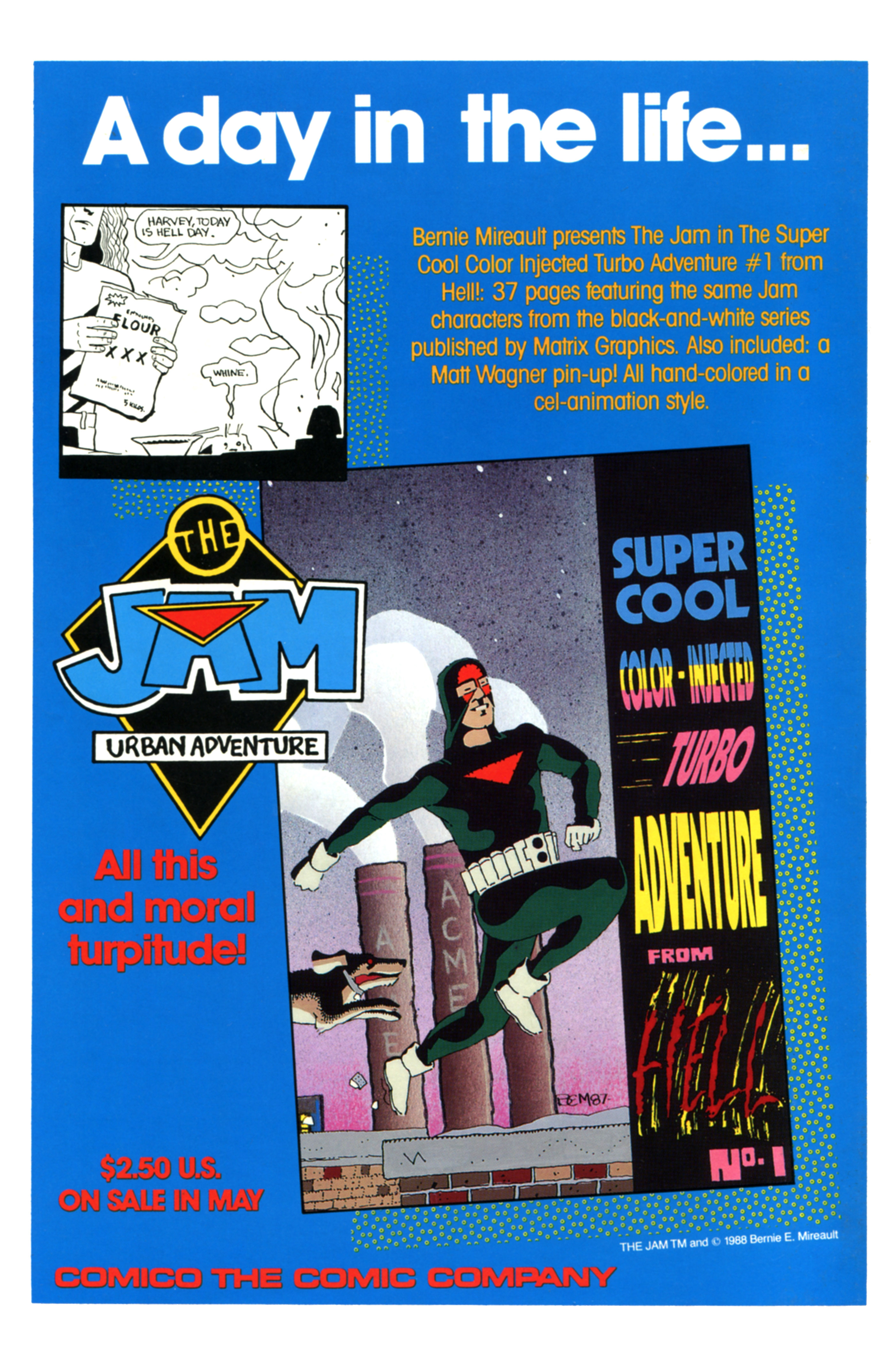Read online Amazing Heroes comic -  Issue #138 - 59