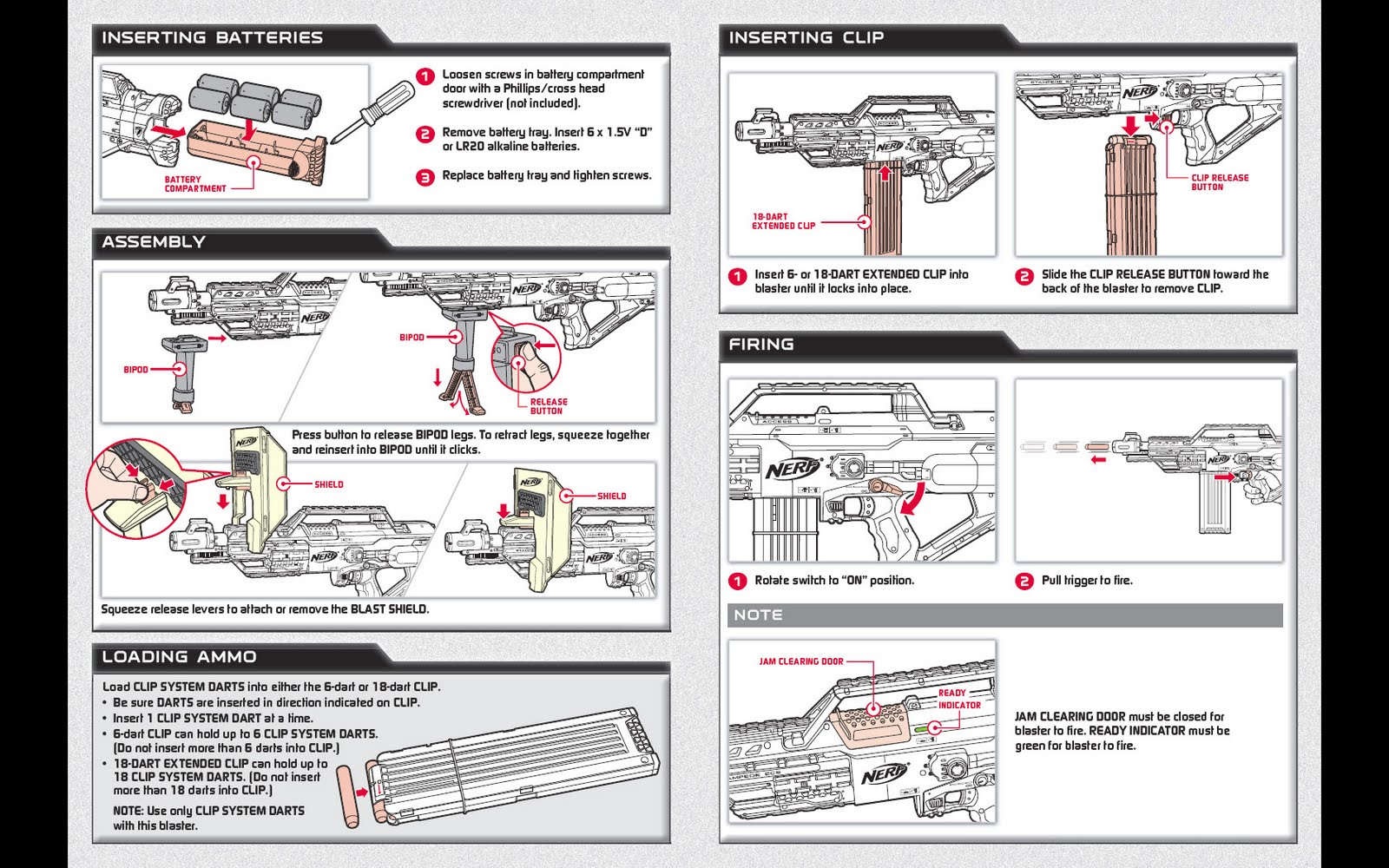 Sg Nerf Nerf Stampede Ecs Instruction Manual