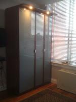 ikea wardrobe hopen. Black Bedroom Furniture Sets. Home Design Ideas