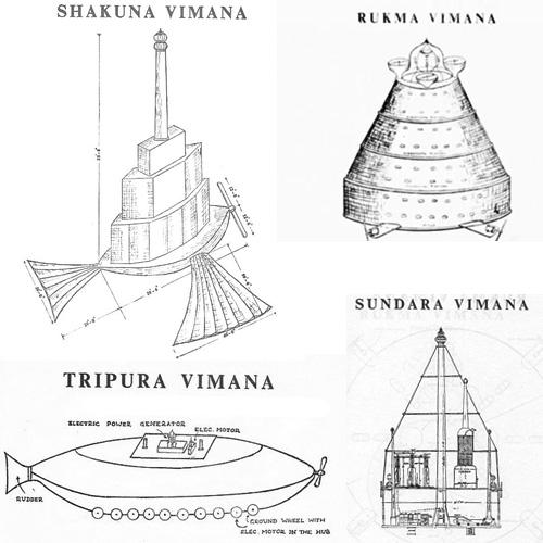 Vaimanika Shastra Shakuna, vimana