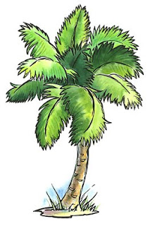 Free Hawaii Palm Tree Clipart