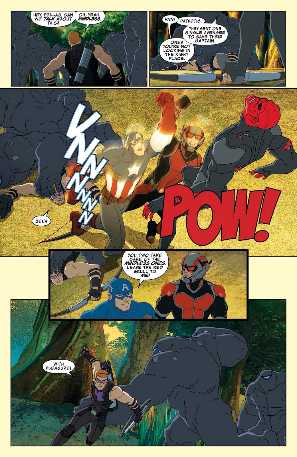 Read online Marvel Universe Avengers Assemble Season 2 comic -  Issue #9 - 20