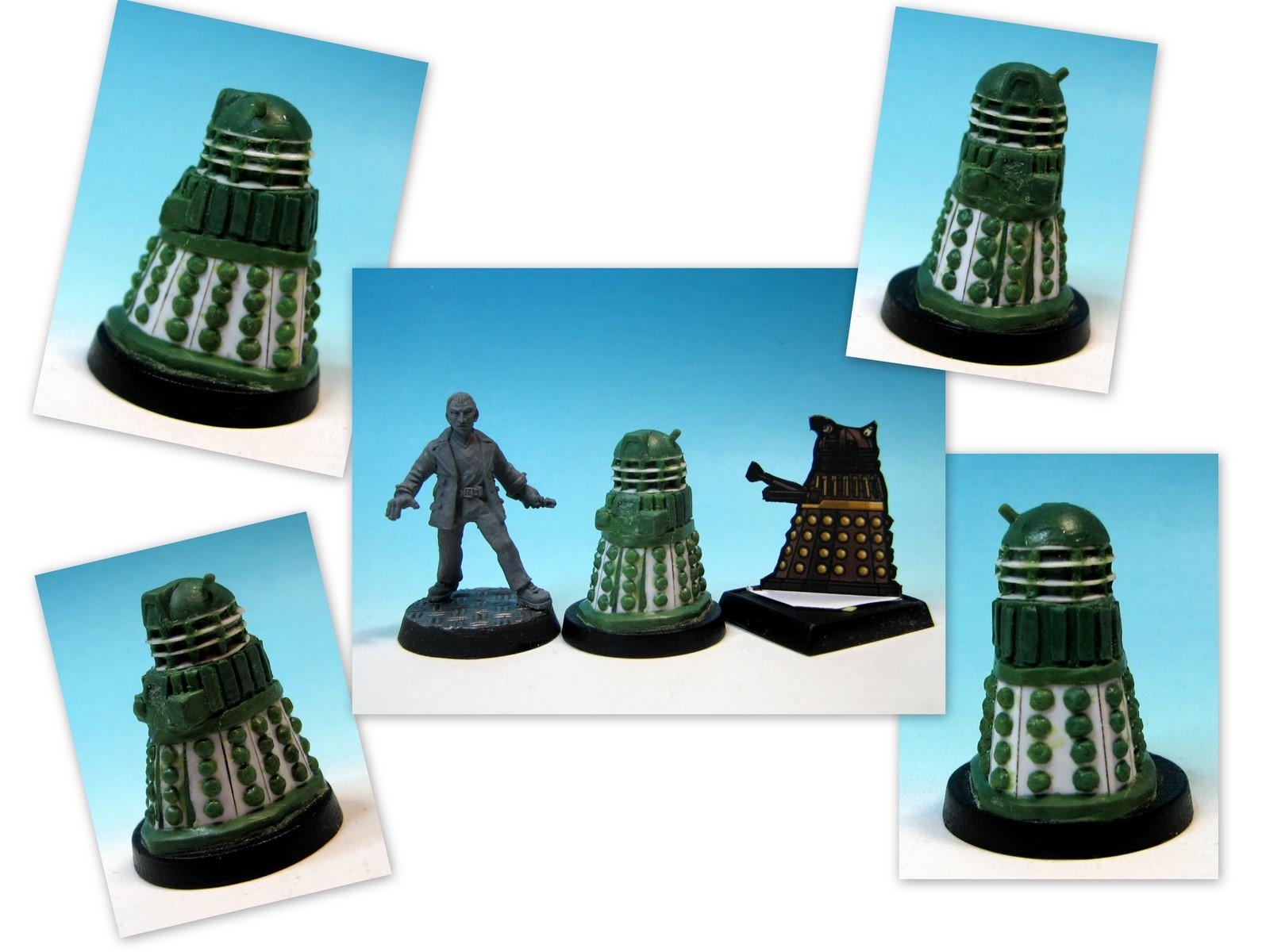 La relativité du Temps: Scratch Building a 28mm Dalek