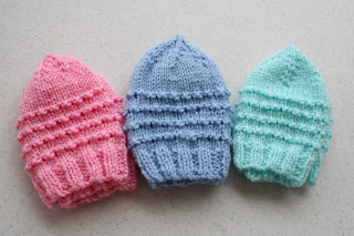 Knit Pattern For Preemie Cap   1000 Free Patterns