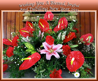 2011 New Year greeting card