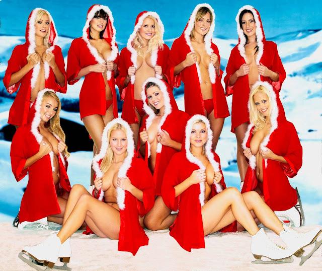 grupos de Mama noel sexy Feliz navidad