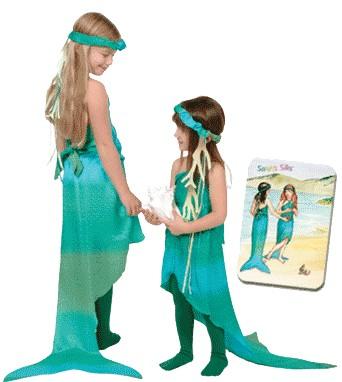 ideas para disfraz de sirena