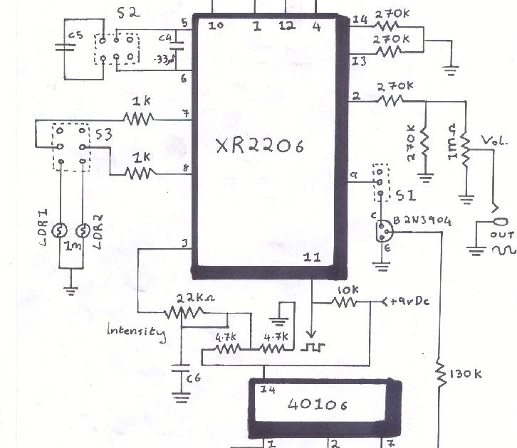simple xr2206 function generator