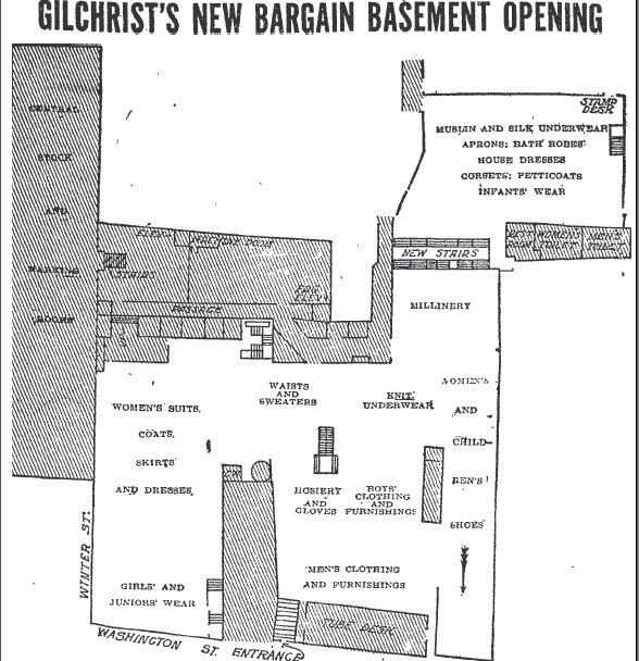 Shopping Days In Retro Boston: The Gilchrist Company