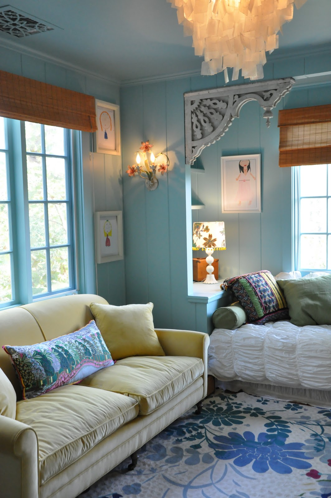 A 10 Year Old's Room by Giannetti Designs...(Via Made by ...