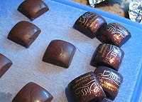 A photo of Hershey's Bliss Milk Chocolate Meltaways