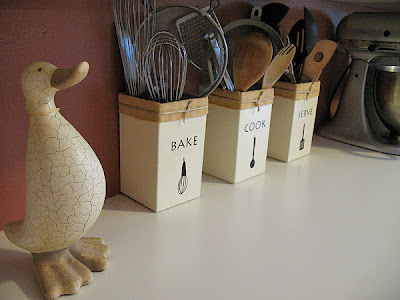 Make Your Own Kitchen Utensil Holders Crafts By Amanda