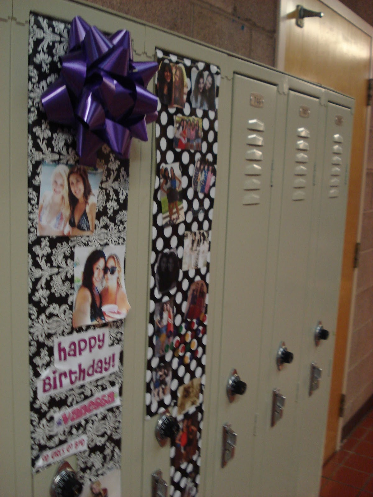 Birthday Locker Decoration Ideas