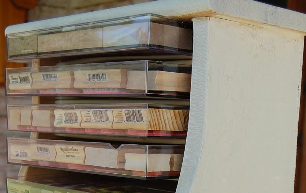 Crafty Storage Rubber Stamp Storage By Kimberly