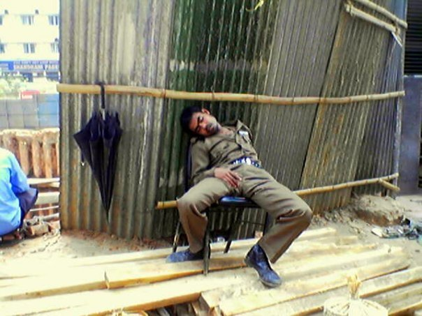Funny Bangla Stuff Security Guard