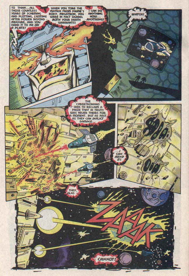 Read online Transformers: Generation 2 comic -  Issue #11 - 3