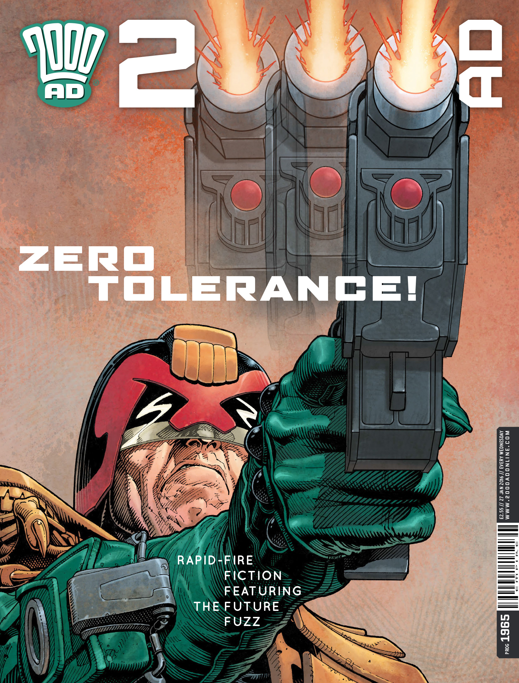 Read online 2000 AD comic -  Issue #1965 - 1