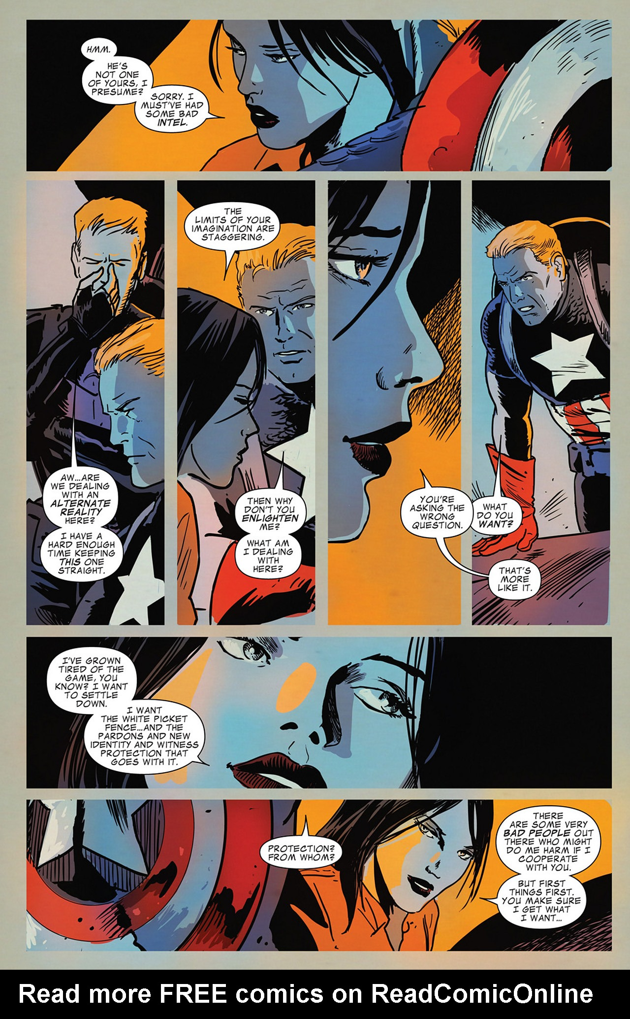 Read online Captain America And Black Widow comic -  Issue #636 - 13