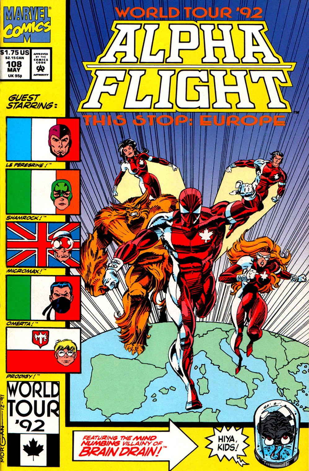 Read online Alpha Flight (1983) comic -  Issue #108 - 1
