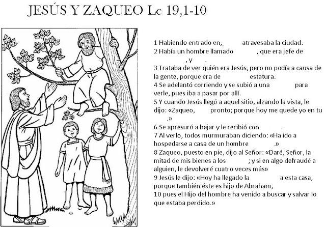 ETICALESTONNAC4: ZAQUEO Y JESÚS TAREA N. 5 Tema: El valor de la ...