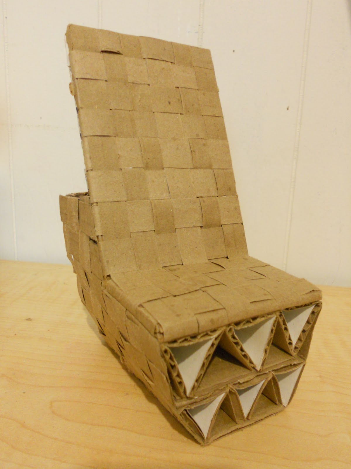 How To Make A Cardboard Chair Create And Design Cardboard Chair