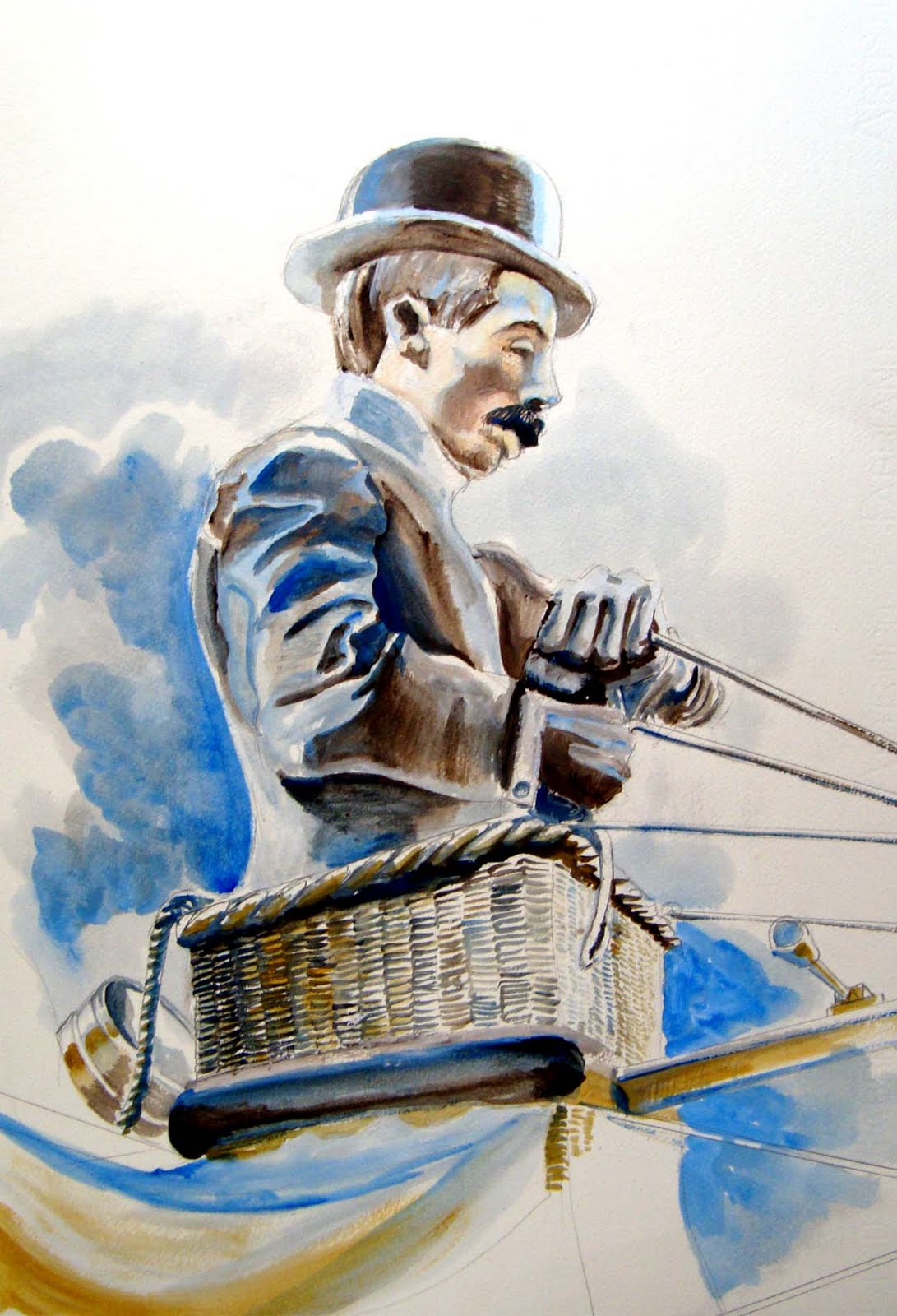 62aaf00a4e1 A Maravilhosa vida de Santos Dumont por Luiz Pagano  Cartier Santos ...
