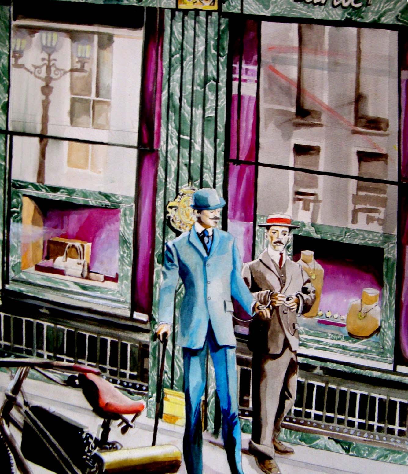 153bf13b8b9 A amizade de Louis Cartier e Alberto Santos Dumont começou no final do  século XIX e ligou dois homens pioneiros em seus metiers.