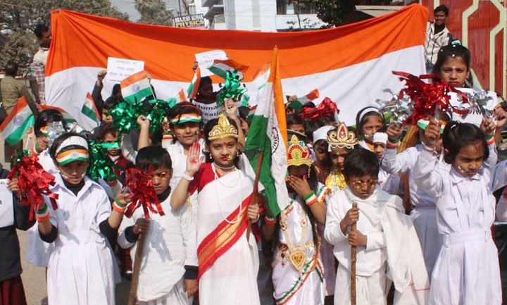how republic day was celebrated in my school The students of class i were thrilled to celebrate this special day by  republic  day is celebrated in the honour of the date when the constitution of india came.