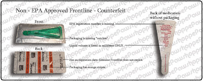 merial frontline plus for cats how to detect counterfeit