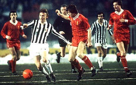 FRITZ THE FLOOD Supercup 1984 Juventus Liverpool