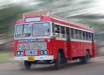 Kerala private bus